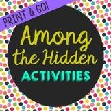 Among the Hidden Novel Unit Study Activities, Book Compani