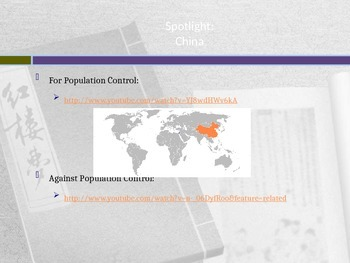 Among the Hidden - Population Control Powerpoint