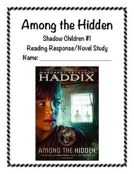 Among the Hidden Reading Response/Novel Study (Margaret Peterson Haddix)