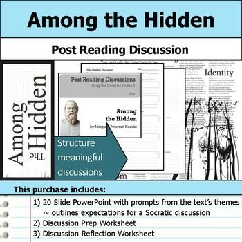 Among the Hidden - Socratic Method - Post Reading Discussions