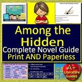 Among the Hidden Distance Learning Novel Study Unit Printable + Google Classroom