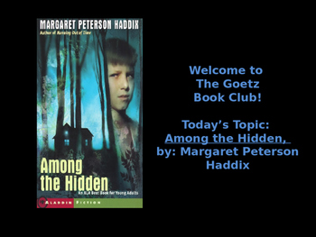 Among the Hidden (Margaret Haddix) Trivia/Book Club Discussion Questions