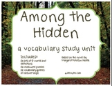 Among the Hidden Vocabulary Study Unit - Activities and Quizzes by Chapter
