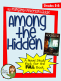 Among the Hidden by Margaret Petersen Haddix - 48 Page Novel Study Unit