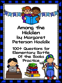 Among the Hidden by Margaret Peterson Haddix - Over 100  EBOB Questions