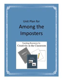 Among the Imposters Novel Unit Plus Grammar