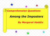Among the Imposters by M. Haddix