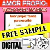 Amor Propio: temas para escribir FREE SAMPLE