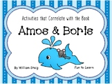Amos & Boris ~ 54 pages of Common Core Activities