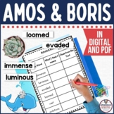 Amos & Boris Guided Reading and Writing Unit in PDF and Digital Formats