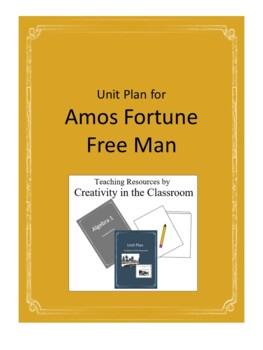 Amos Fortune Novel Unit Plus Grammar