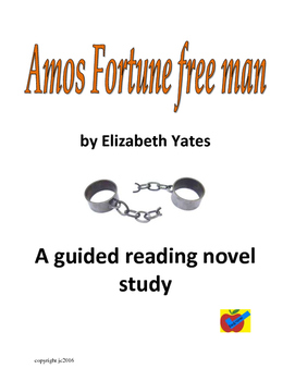 Amos Fortune free man  guided reading plan