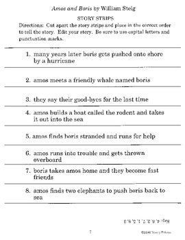 Amos and Boris Literature Guide