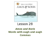 Amos and Boris PowerPoint with Weekly Activities for Journeys Grade 3