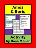 Amos and Boris Literacy Task Cards