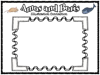 Amos and Boris Somebody Wanted But So Then Summary Graphic Organizer