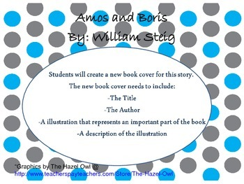 Amos and Boris book cover activity
