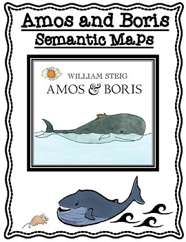 Amos and Boris by William Steig Differentiated Semantic Maps