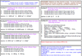 Moles calculations 1 of 2