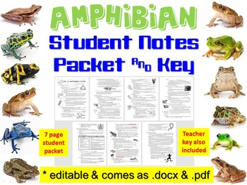 biology notes amphibians Revise how living organisms can be classified according to their characteristics with bbc bitesize gcse biology  amphibians usually have lungs but they can also.
