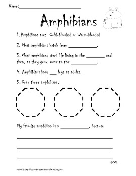 Amphibian Writing