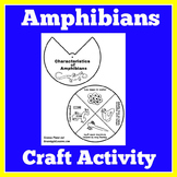 Amphibians Activity | Amphibians Worksheet | Amphibians Craft