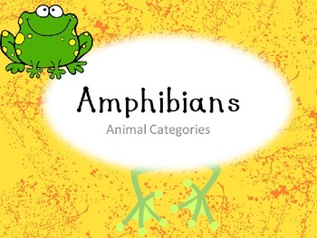 Amphibians! A Mad Science Fox Lesson