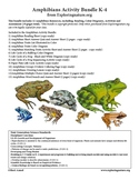 Amphibians Activity Bundle (K-5)