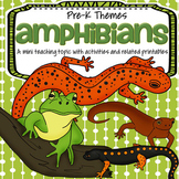 Amphibians Theme Unit Math & Literacy Activities and Centers