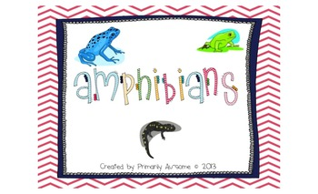Amphibians Mini-Book (For Students with Autism & Communica