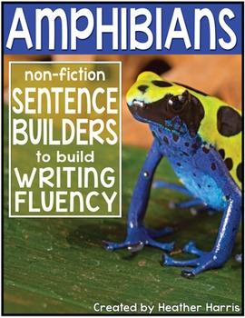 Amphibians Sentence Builders