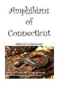 Amphibians of Connecticut - Habitat  (activities and presentation combined)