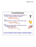 Amplify 4th Grade Science Chapter 2.1 Energy Converters