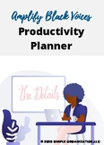 Amplify Black Voices Productivity Planner