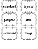 Amplify CKLA Word Work Cards