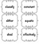 Amplify CKLA Word Work Cards