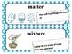 Amplify Grade 5 Modeling Matter Vocabulary Cards