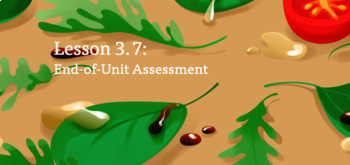 Amplify Science 5th Grade Unit 2 Assessment