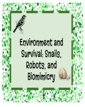 Amplify Science Environments and Survival Chapter 1