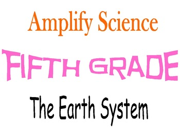 Amplify Science Fifth Grade Unit 3 Chapters 1 & 2
