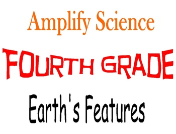 Amplify Science Fourth Grade Unit 3 Chapters 3 & 4