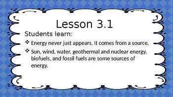 Amplify Science Grade 4 Lesson 3.1
