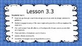 Amplify Science Grade 4 Unit 1 Lesson 3.3