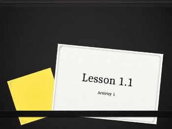 Amplify Science Lesson 1.1 Activities 1-4