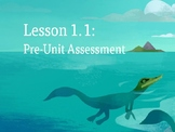 Amplify Science Plate Motion: Lesson 1-1 (Pre-Unit Assessment)