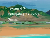 Amplify Science Plate Motion: Lesson 4-2 (Participating in a Science Seminar)