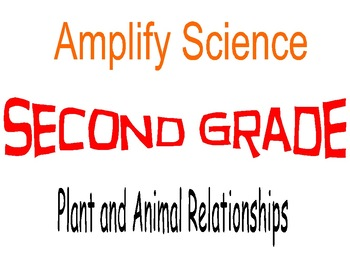 Amplify Science Second Grade Lesson Plans Unit 1 Chapters 1 & 2