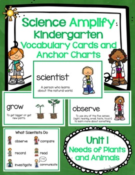 Amplify Unit 1 Vocabulary Cards with Anchor Charts and Key Ideas