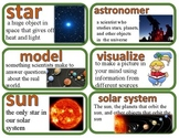 Amplify Vocabulary Cards Grade 5 Unit 1 Patterns of Earth and Sky