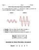 Amplitude and Energy Practice MCAS Open Response